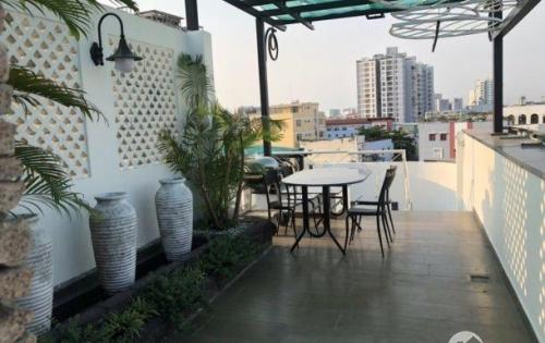 Biệt thự nhà vườn hồ bơi  MT đường Nguyễn Bá Tòng P Tân Thành 198m2