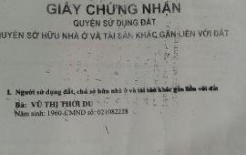 KẸT VỐN Bán Nhà Hẻm  3m Thông  đường  Phạm Quý Thích giá 2.65tỷ TL 0912943100