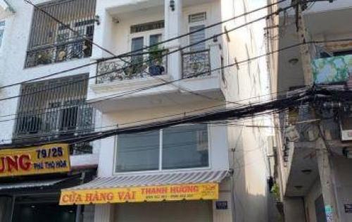 - Nhà chính chủ 79 Phú Thọ Hòa P Phú Thọ Hòa dt 4mx18m 3.5 tấm hẻm 10m thông giá 8.5 tỷ,
