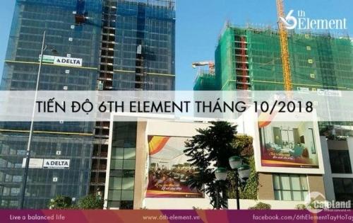 MỞ BÁN TOÀ DIAMOND DỰ ÁN 6th ELEMENT MẶT PHỐ NGUYỄN VĂN HUYÊN  GIÁ 2.4 TỶ