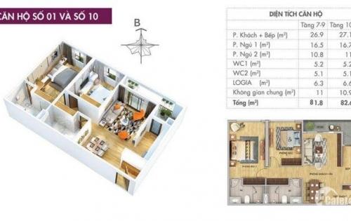 Bán căn hộ chung cư cao cấp 6th element tây hồ tây