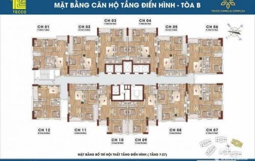 Mua nhà liền tay tặng ngay SH chỉ có tại Tecco Camelia Complex Thái Nguyên