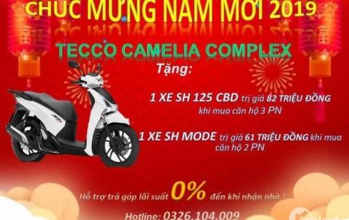 mua căn hộ tecco camelia complex để nhận quà trị giá 100tr
