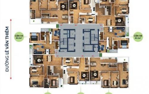Mua căn hộ Bohemia, Thanh Xuân, chiết khấu lên đến 10,5% GTCH, chỉ từ 21.7Tr/m2