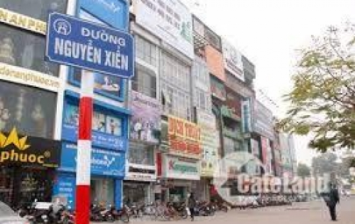 Bán nhà Thanh Xuân - Mặt phố Nguyễn Xiển 40 tỷ, 120mx10t Mới đẹp