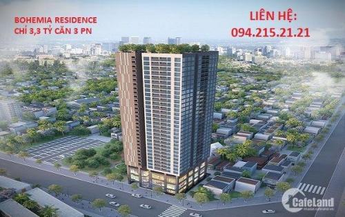 Mua căn hộ Bohemia, Thanh Xuân, chiết khấu lên đến 10,5% GTCH, chỉ từ 23Tr/m2