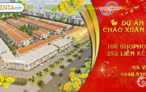 Dự án Centa City Hải Phòng, giá gốc chỉ từ 2 tỷ. LH PKD chủ đầu tư 0948.538.759