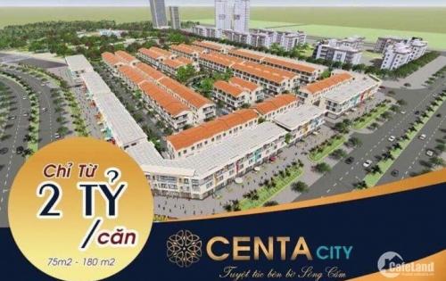 Mở bán dự án Centa City Hải Phòng 3-2019, giá chỉ 20tr/m2, Diện tích 75m2 Mr:Đông 0936763102