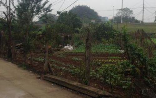 Bán đất thổ cư thôn Hòe Thi, phương canh giá hấp dẫn nhất thị trường