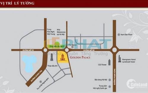 Golden Palace A - Shophouse tiềm năng số 1 Hà Nội