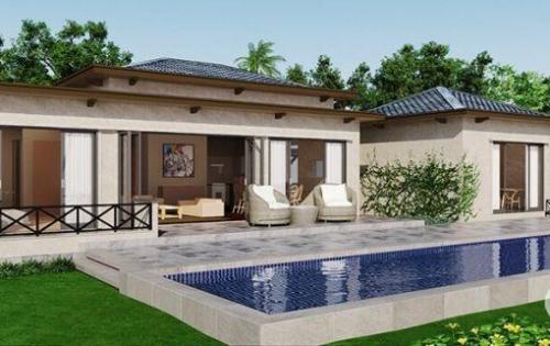 Biệt thự nghỉ dưỡng hồ tràm giá chỉ 8tr/m2 với diện tích đất 1000m2, cạnh Casino Hồ Tràm Strip