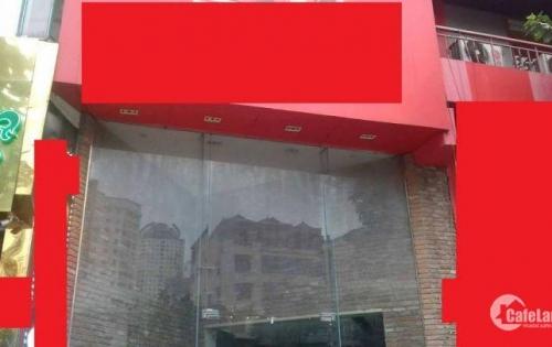 Cho thuê nhà mặt phố VIP Trần Duy Hưng 105m*3 tầng có thang máy