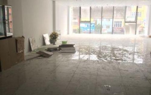 cho thuê gấp sàn văn phòng Mặt phố 116 Trường Chinh Thanh Xuân 150m thông sàn mặt tiền 8m
