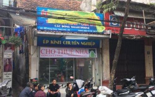 Cho thuê Chính Chủ nhà 42 Phùng Hưng, mặt tiền 4M, giá 26 triệu/tháng