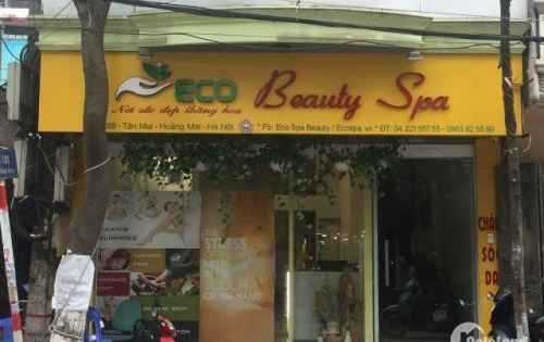 Cho thuê cửa hàng mặt phố Tân Mai