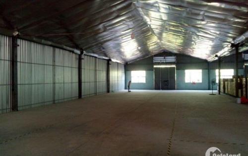 Cho thuê kho chứa hàng 600m2 (10m x 60m) tại huyện Nhà Bè giáp Quận 7.