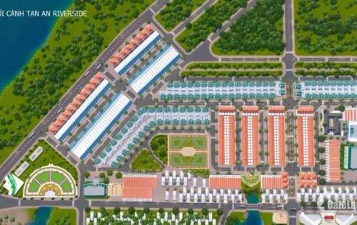 siêu dự án nằm ngay cửa ngỏ ra vào thị xã Tân An Riverside