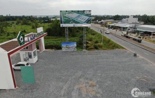 Cần bán lô đất view kênh, đường nhựa 11m, tiện kinh doanh quán nhậu, cafe, giá dưới 1 tỷ cho đầu tư.