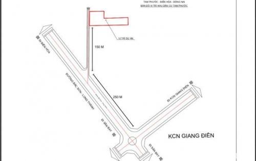 Mở bán dự án mới ngay khu vực Tam Phước, Biên Hòa, vị trí đắc địa