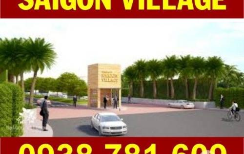 Cần Bán Đất Sài Gòn Village, DT: 5m x 16m (80m2), sổ hồng riêng, dãy A, B. Giá: 1.2 tỷ