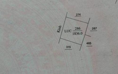 Bán Đất Vườn 1.5 Tr/m2 Kề Đường Đã Giải Phóng địa phận Tp Bến Tre