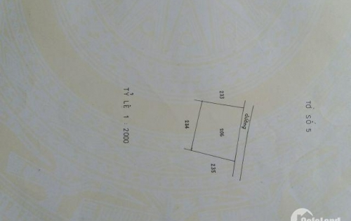 Bán 1-2000 m2 Đất Vườn Mặt Tiền Đường HL 173 Hữu Định Bến Tre