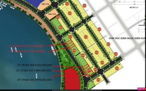 Bán lô đất đường 10,5m Ngọc Dương Riverside giá đầu tư view sông cổ cò