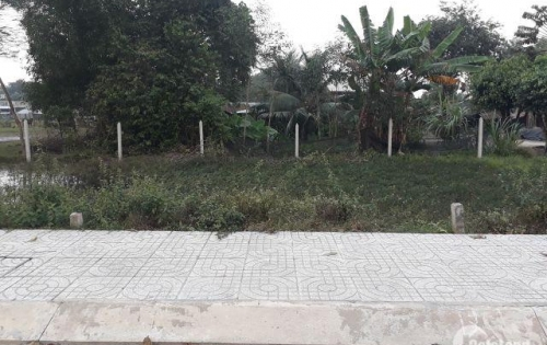 Bán đất gần chợ Mỹ Hạnh Nam , thị trấn Đức Hòa, Long An