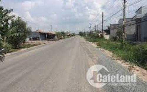 Cần bán đất thị trấn Đức Hòa mặt tiền Tỉnh Lộ 824, thổ cư 100%, SHR, bao GPXD