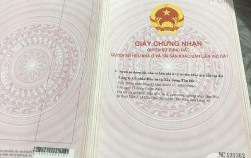 Cần bán đất KCN Tân Đô, Đức Hòa Long An