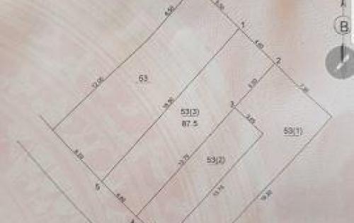 Bán đất tại Đường Cổ Bi, Gia Lâm,  Hà Nội diện tích 87.5m2  giá 25 Triệu/m²