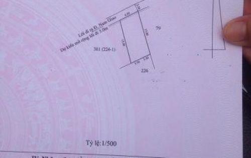 Bán đất 103,5m2, kiệt 2,5m, thượng 1, Thủy Xuân, Huế