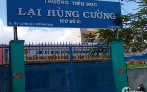 Đất nền đầu tư KDC Vĩnh Lộc B. Tìm năng trung tâm xã Vĩnh Lộc B