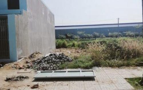 Ra nền đất thổ, sổ hồng riêng. 100m2 trên đường Phan Văn Hớn giá 700tr.