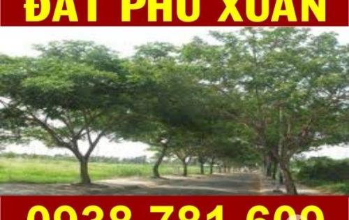 Cần Bán Lô Đất Phú Xuân VPH, DT: 6 x 21 (126m2). Giá tốt: 21tr/m2. LH: 0938781609 - Trang