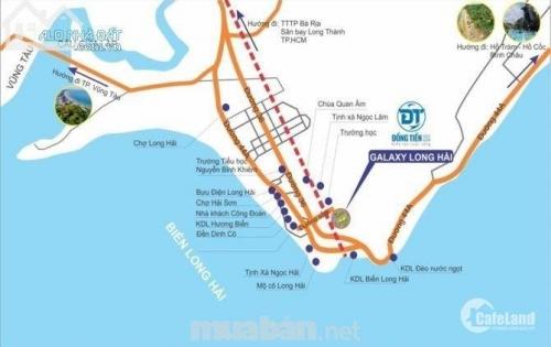 Dự án biển sinh lời cao kề cận thành phố vũng tàu giá tốt Galaxy Long Hải