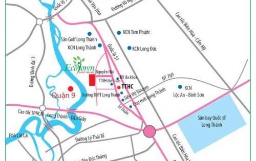 Đất Long Thành, dự án đón đầu sân bay quốc tế, giá chỉ từ 14,9tr/m2, SHR, thổ cư 100%, Lh ngay 0937 847 467