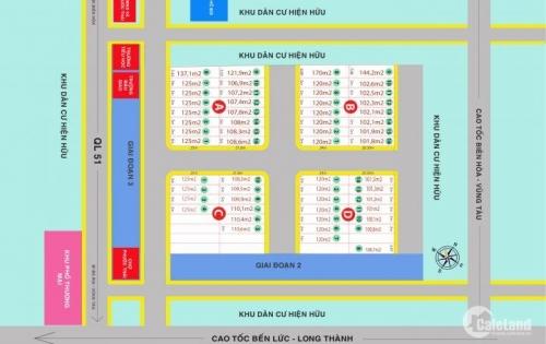 Bán đất Long Thành, SHR,gần chợ Phước Thái giá 380triệu/100m2 mua là công chứng ngay, 0934.108.361