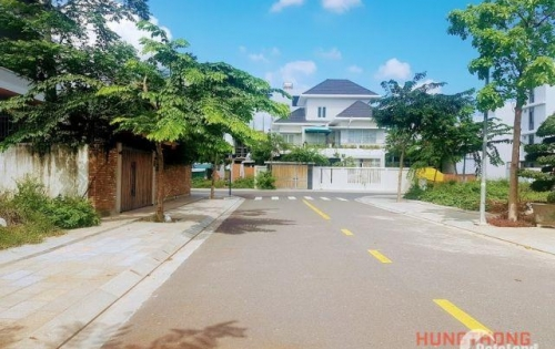 Bán đất biệt thự, đường A1, khu VCN Phước Hải Nha Trang, 382m2, Đông Nam