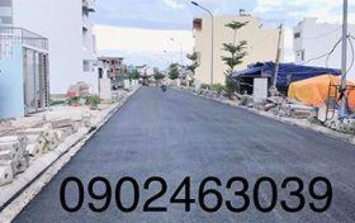 Bán lô đất 80m2 hướng Đông Nam trong KĐT An Bình Tân, sổ đỏ, đường trải nhựa, xây dựng ngay