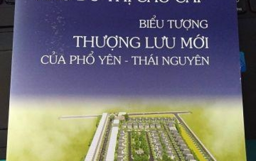 Bán ĐẤT nền dự án Phổ Yên Residence Thái Nguyên