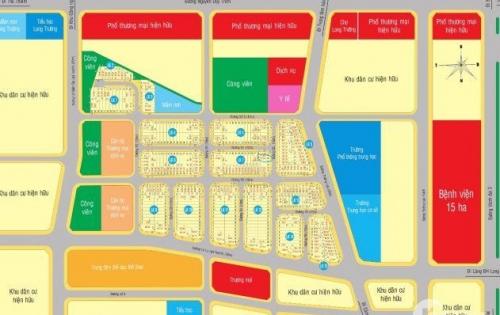 Chính chủ cần tiền bán gấp lô đất dự án Singa City, MT Trường Lưu Q9 giá 2tỷ thổ cư 100% 0981633644