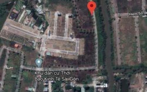 Chính chủ bán đất Phú Hữu quận 9 , 400m2 giá 26,5tr/m2, có sổ, view sông. LH 0902958994