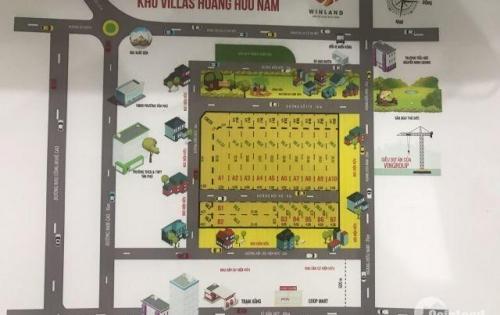 Chính thức mở bán khu Villas Hoàng Hữu Nam, giá đầu tư 43tr/m2, sát bên BXMĐ và bến Metro số 1