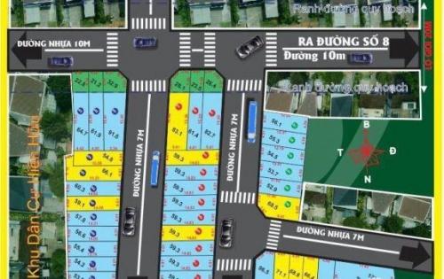 Bán đất nền dự án tại Đường 8, Quận Thủ Đức, Hồ Chí Minh