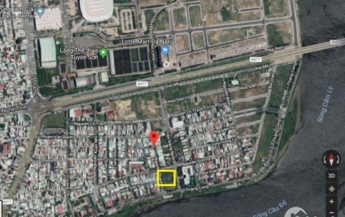 Đất mật tiền, giá mặt kiệt trung tâm quận Hải Châu