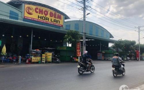 Lô đất sát bên chợ đêm Hòa Lân tiện kinh doanh buôn bán giá bán 34tr/m2