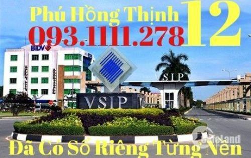 Dự Án Phú Hồng Thịnh 12 Đã Có Sổ Riêng Mua CCCN Ngân Hàng Hỗ Trợ 50%