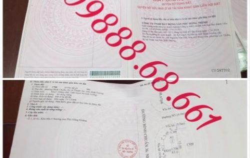 Dự án phú hồng thịnh 15 thuận an đã có sổ riêng từng nền, ngân hàng hỗ trợ