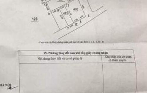 Bán 100m2 đất Phú Đô, oto vào cửa, giá 62tr/m có thương lượng